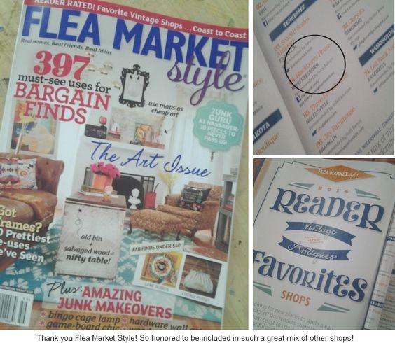 Flea Market Style Reader Favorites